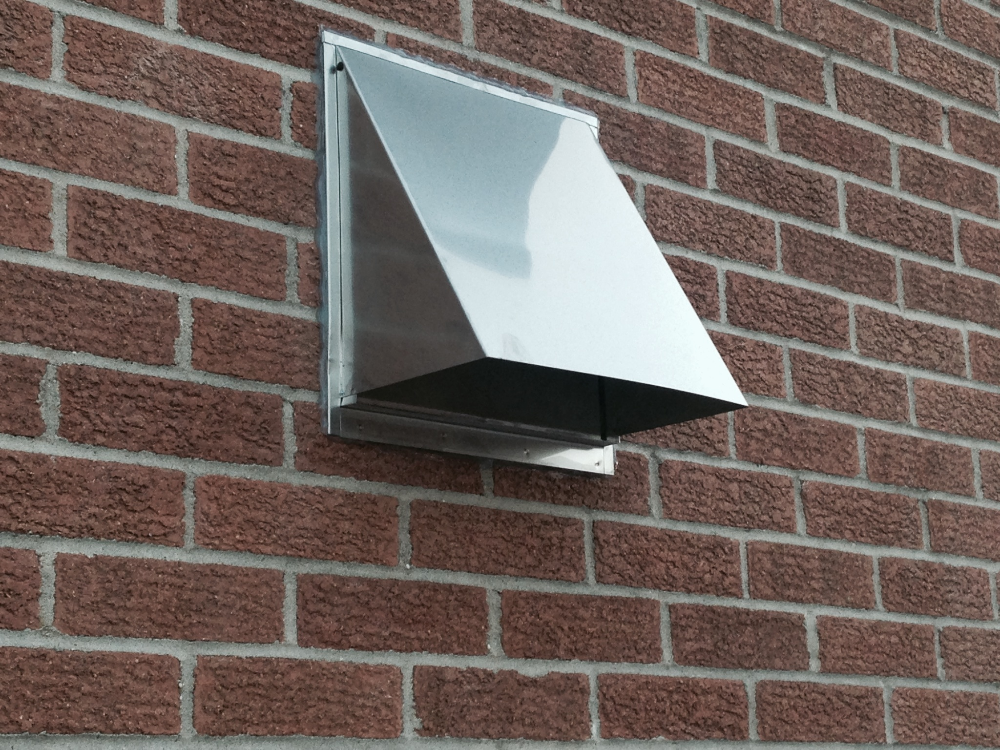 Wall Exhaust Hood ~ Range exhaust wall vents and roof from luxury metals