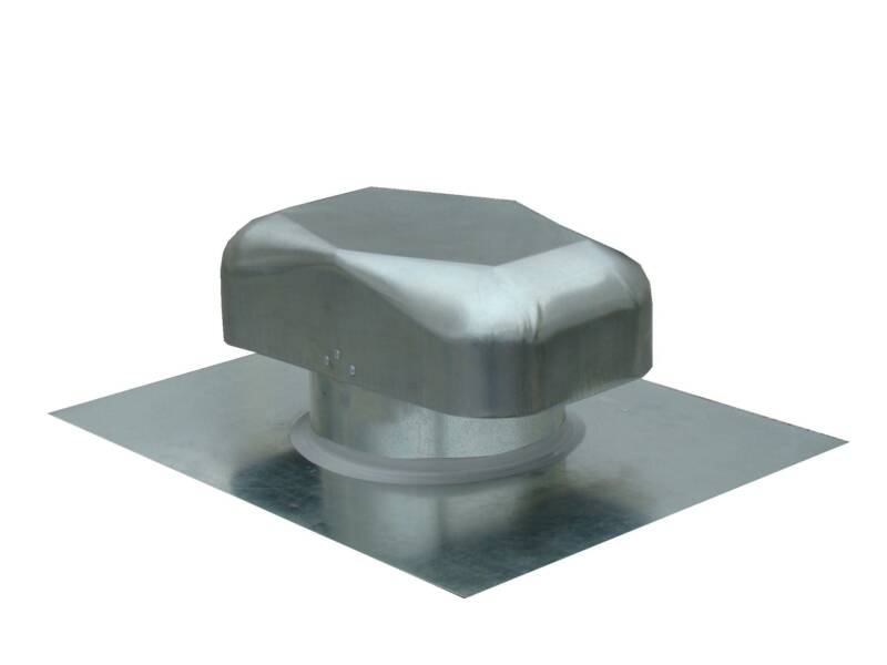 Metal roof bath vent cap for 3 bathroom vent cover