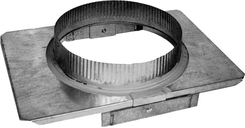 Stove Pipe Stove Pipe Adapter Square To Round