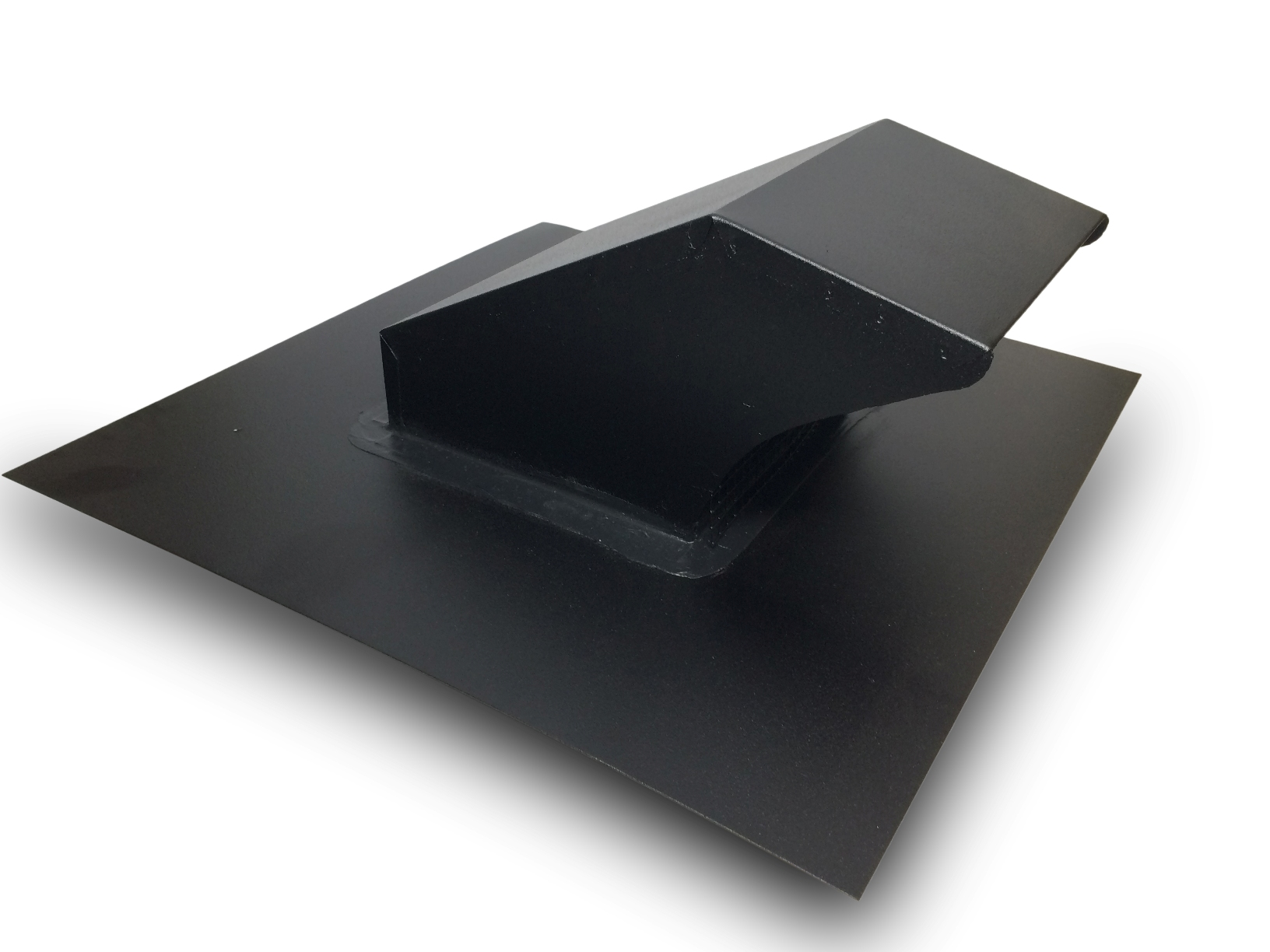 black roof dyer vent