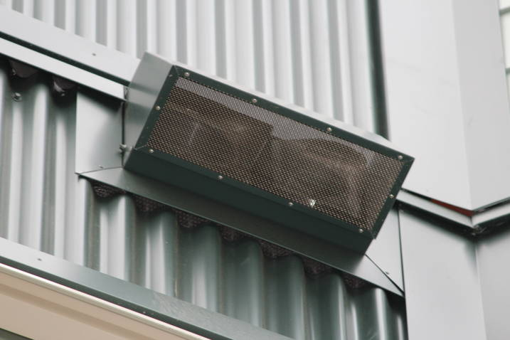 multi tenant metal vent covers