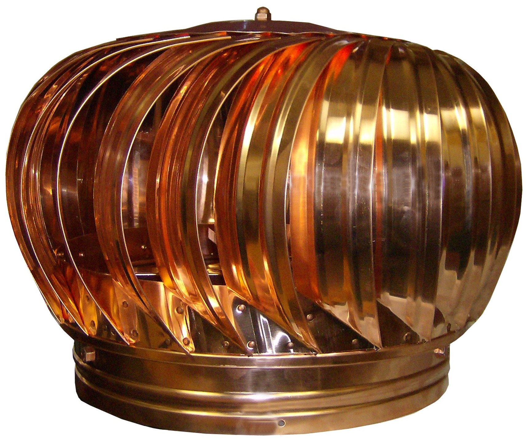 Copper Spinning Turbine Vent