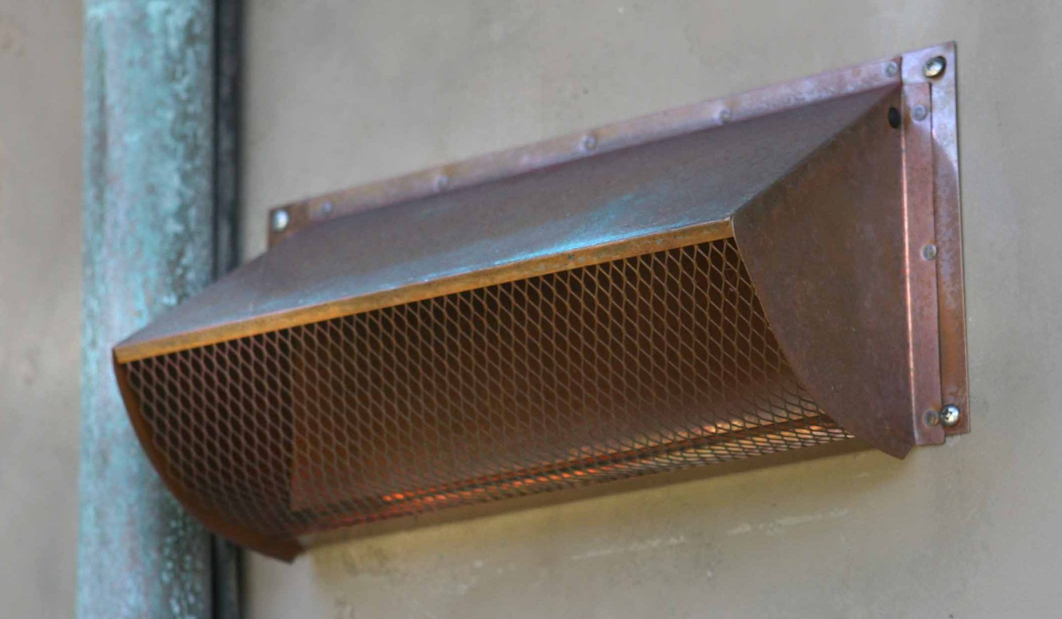 Quality Copper Range Hood Wall Vent
