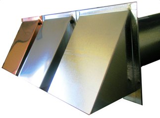 Stainless Exterior Wall Vent Cover. Many Exterior Vents To Choose From