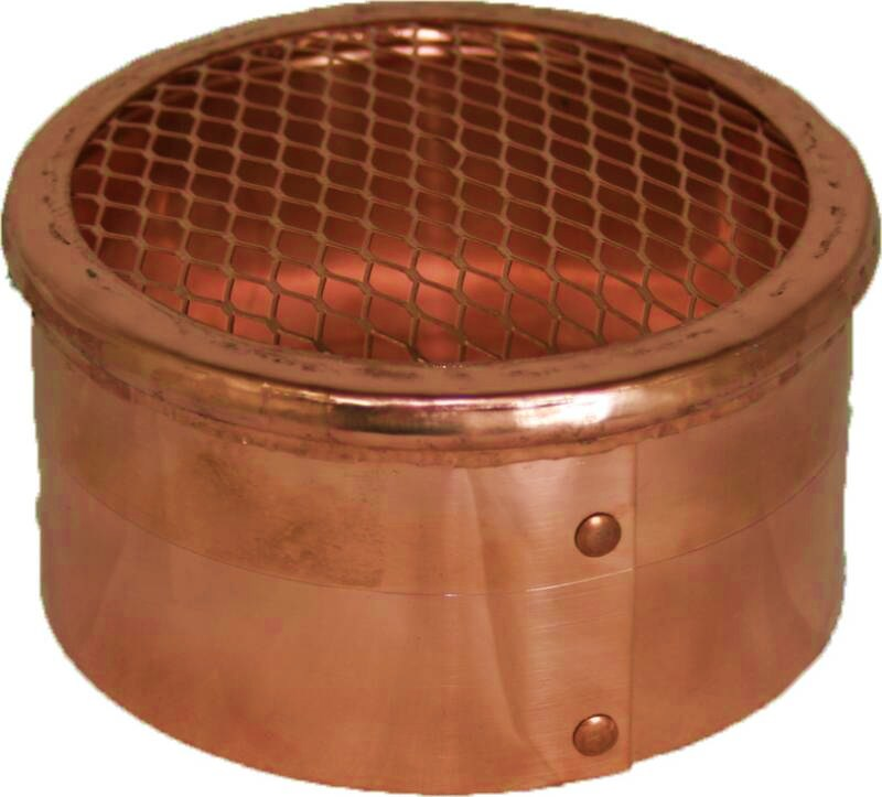 copper eave bath vent