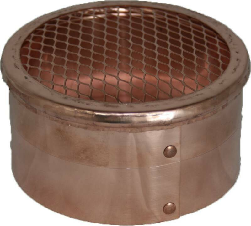 Heavy duty metal vents in copper stainless and galvanized for 3 bathroom vent cover