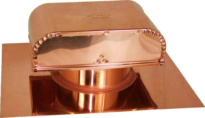 Vent Roof Boot Copper Roof Range Hood Vent