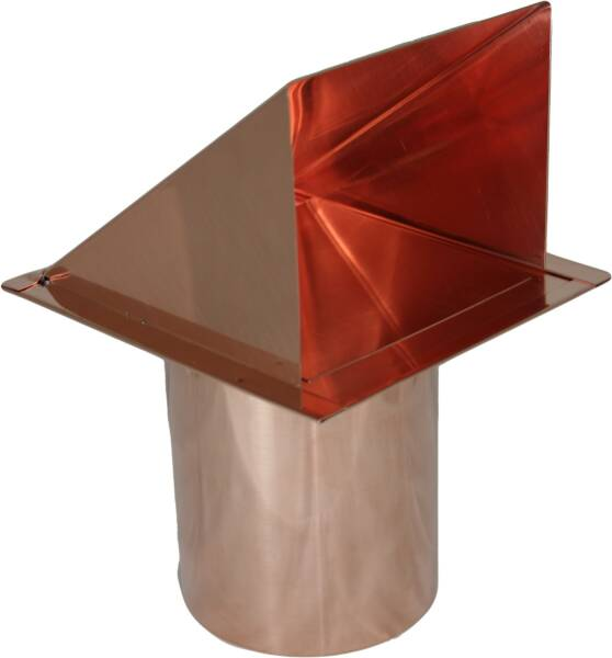 copper wall vent