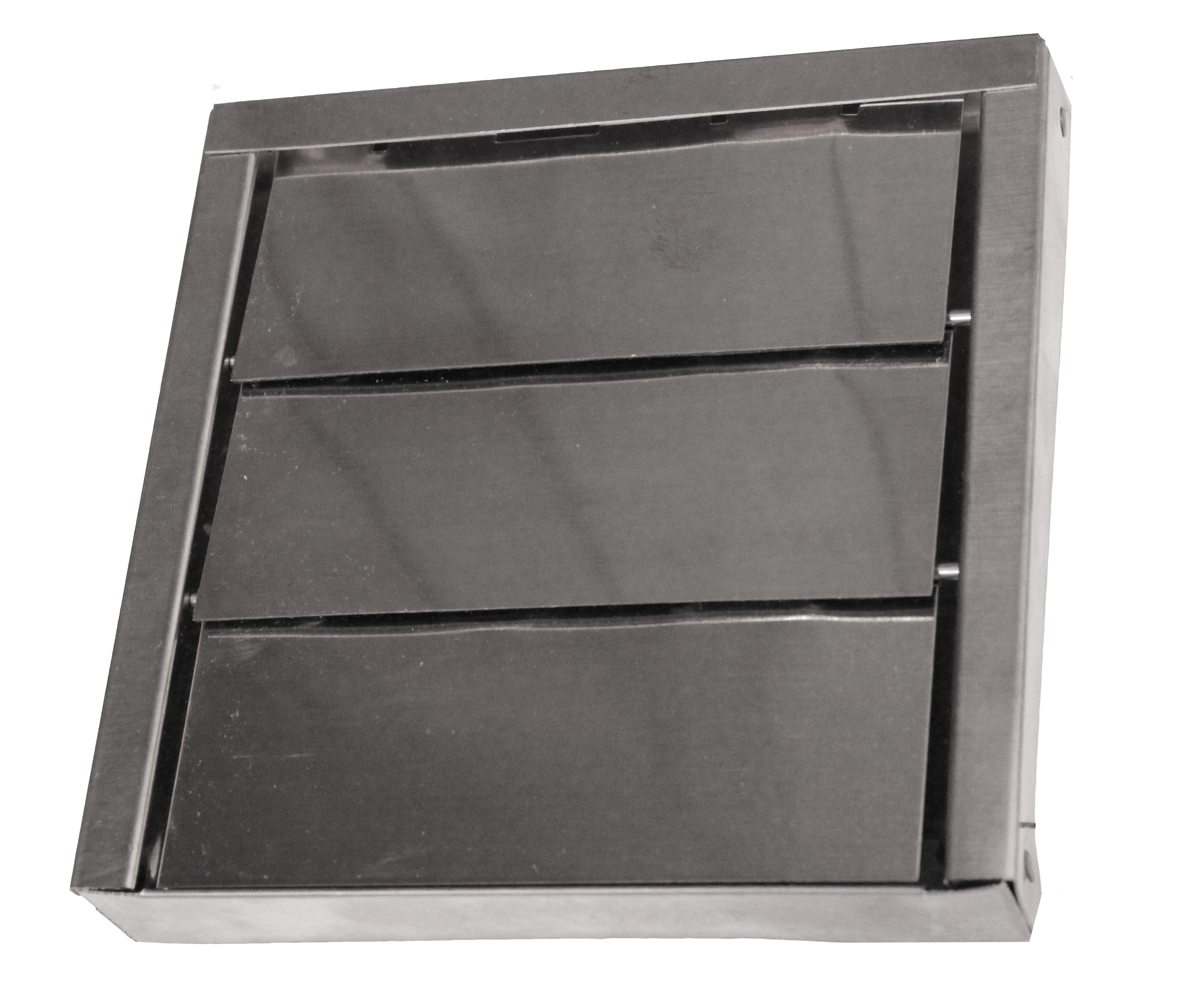 Galvanized 3 Louver Wall Vent