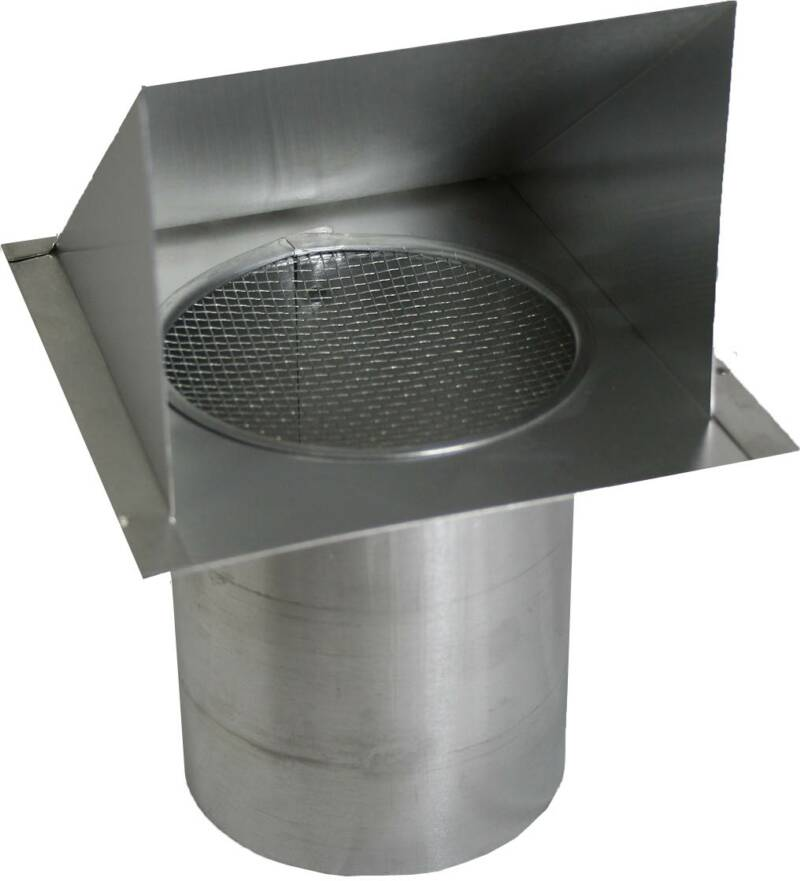 Galvanized bath vent for 3 bathroom vent cover