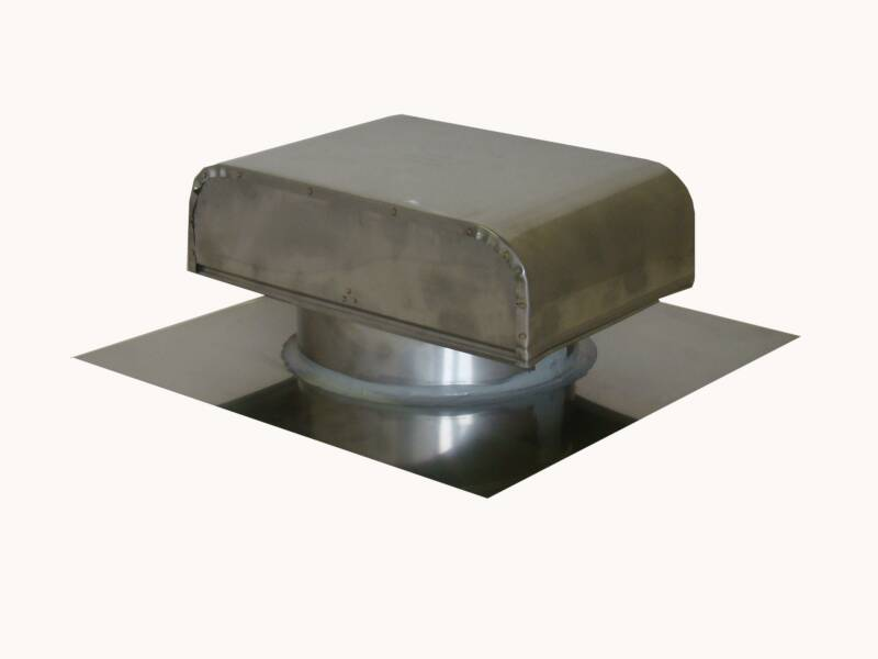stainless steel roof vent cap