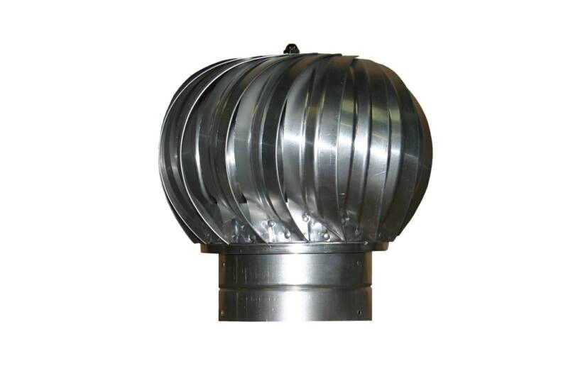 Turbine Air Vent : Turbine vents for commercial venting residential