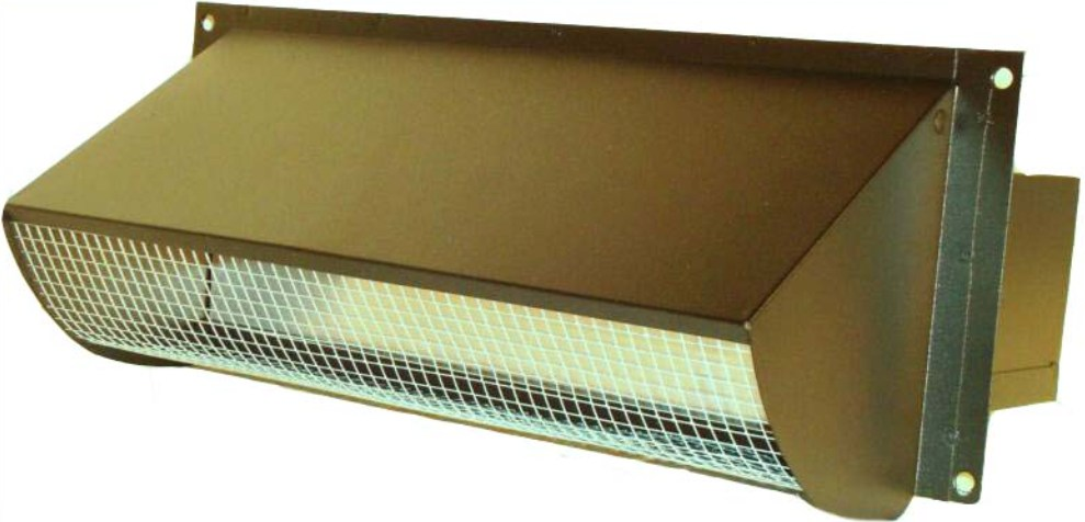 Merveilleux Copper Range Hood Vent For Exterior Wall
