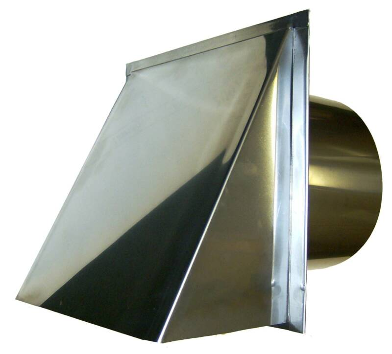 Stainless Exterior Dryer Vent Cap