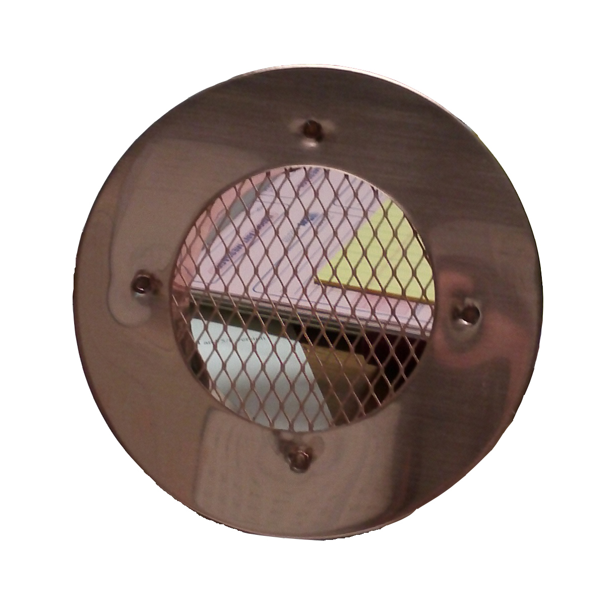 Flush Mount Copper Eave Vent