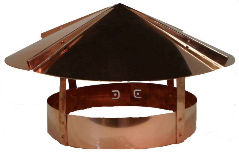copper chimney rain cap