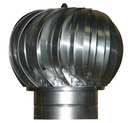 Stainless Spinning Turbine Vent