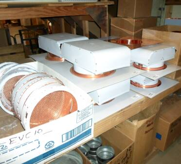Copper Vents ready to ship