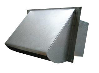 commercial exterior metal exhaust vent cover