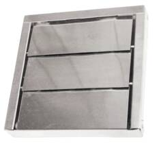 Low Profile Stainless Steel 3 Louver Vent