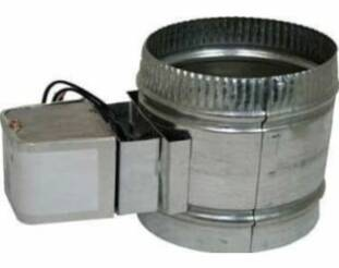 Motorized Zone Dampers by Luxury Metals