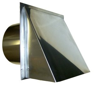 stainless 8 inch range hood wall vent