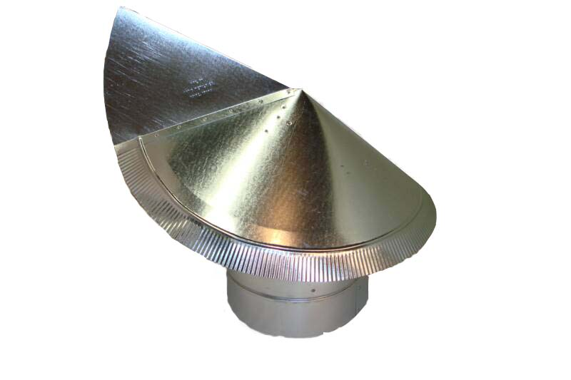 metal wind chimney cap for smoke problems